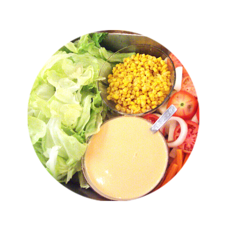 Garden-Salad-with-Thousand-Island-Dressing