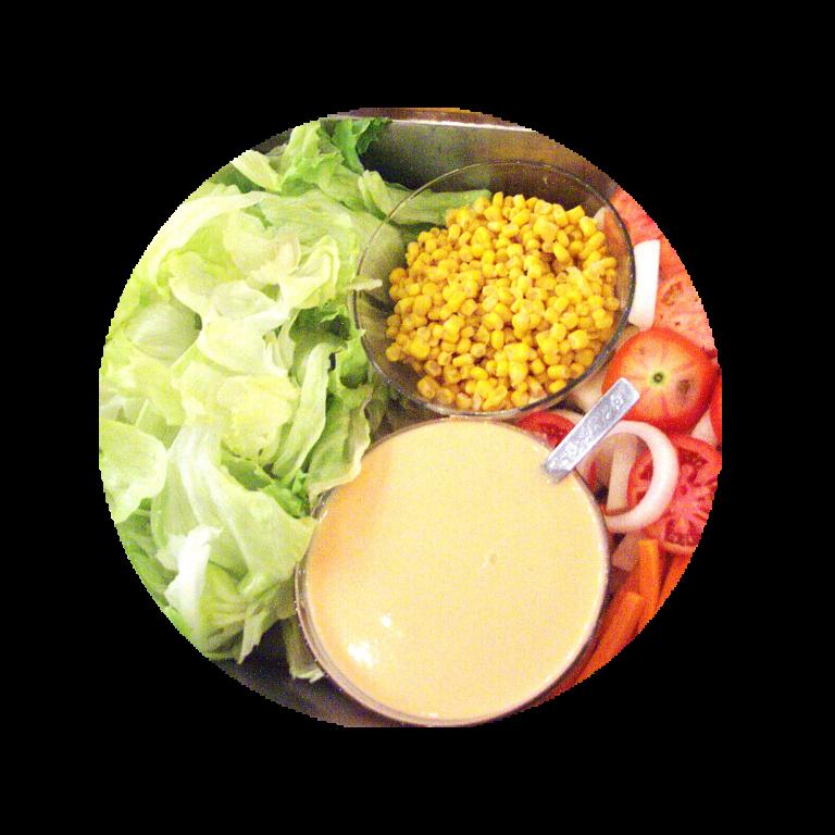 Garden-Salad-with-Thousand-Island-Dressing